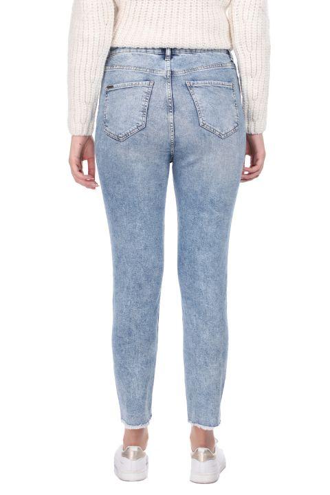 Women's Skinny Fit Cutout Jeans