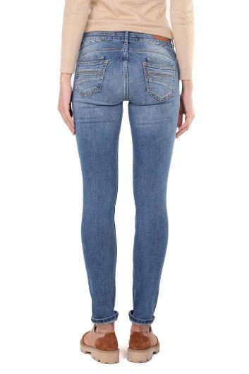 Women's Slim Fit Jean Trousers - Thumbnail