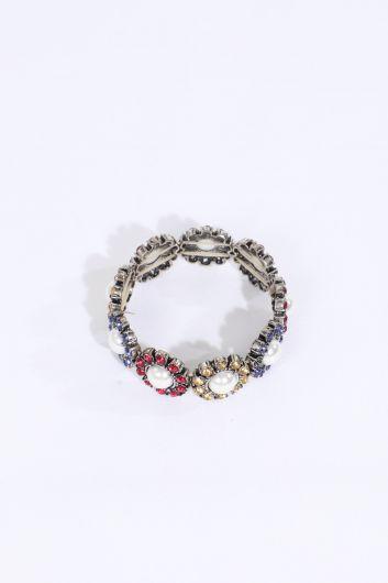 MARKAPIA WOMAN - Женский эластичный браслет с камнями (1)