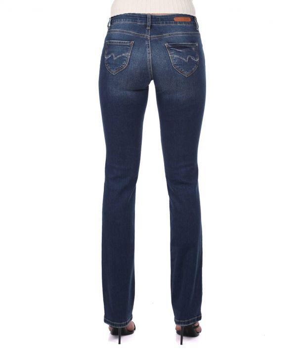 Женские джинсовые брюки прямого кроя