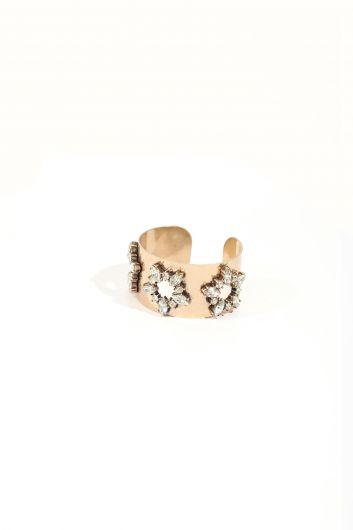 Women's Thick Stone Bracelet - Thumbnail