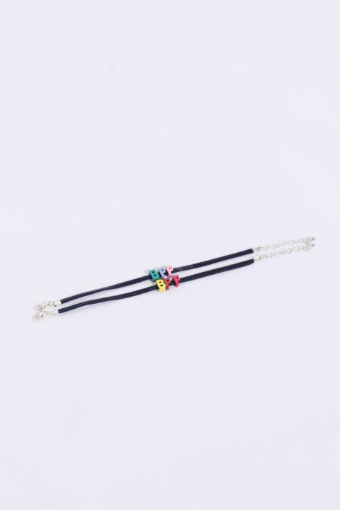 Women's Thin Mini Letter Bracelet