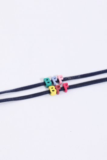 MARKAPIA WOMAN - Women's Thin Mini Letter Bracelet (1)