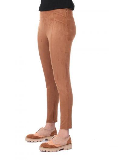 MARKAPİA WOMAN - Yüksek Bel Kadife Pantolon (1)