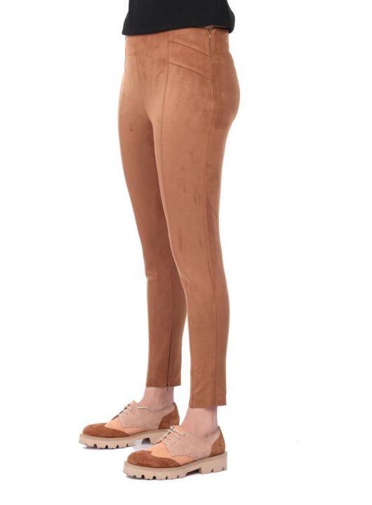 Yüksek Bel Kadife Pantolon