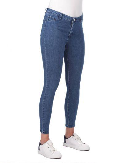 MARKAPIA WOMAN - Yüksek Bel Jean Pantolon (1)