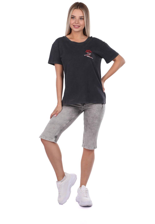Женские капри Banny Jeans с карманами на молнии