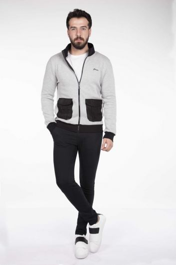 MARKAPIA - MArkapia Men's Pocket Cardigan (1)