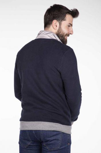 MArkapia Men's Pocket Cardigan - Thumbnail