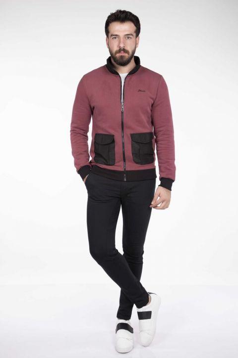 MArkapia Men's Pocket Cardigan