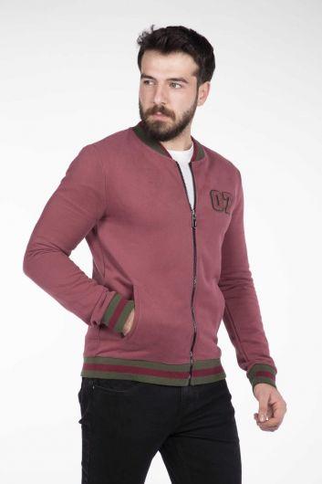 Markapia Men's Zipper Cardigan - Thumbnail